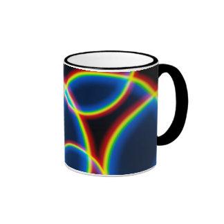 Taza Pattern12 del arco iris de TrashcanLou