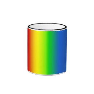 Taza Pattern14 del arco iris de TrashcanLou