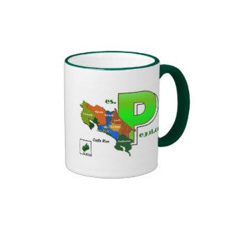 Taza PEGUI Ringer Coffee Mug
