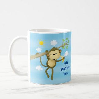 TAZA - pequeño mono fresco lindo de encargo en
