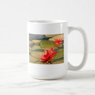 Taza perezosa de Waterlilies