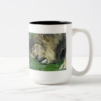 Taza perezosa del león