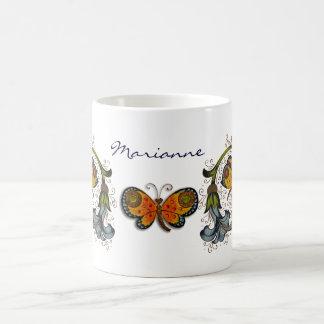 Taza personal de la mariposa florentina del