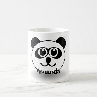 Taza personalizada adorable de la taza del amante