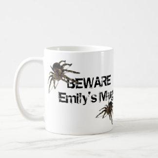 Taza personalizada araña del Tarantula