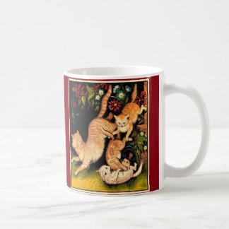 Taza personalizada de los gatos de Eliot de los TS