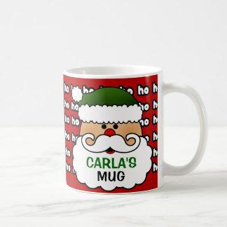 Taza personalizada de Papá Noel