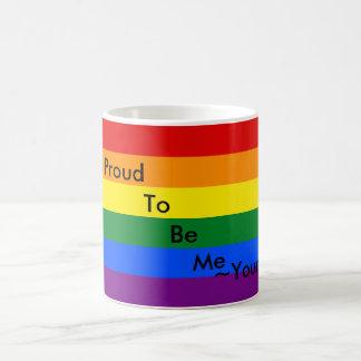 Taza personalizada del orgullo
