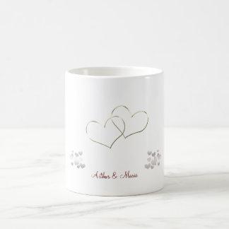 Taza personalizada el día de San Valentín lindo