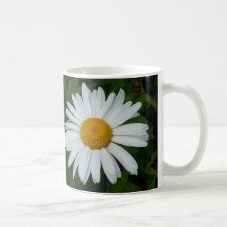 Taza personalizada flor de la taza de la margarita