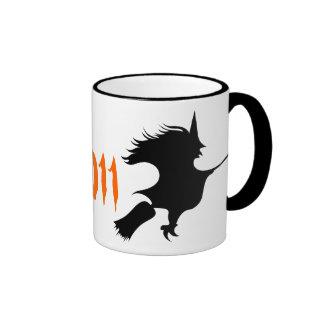 Taza personalizada Halloween de la bruja