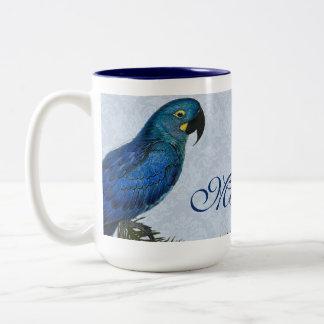 Taza personalizada loro del Macaw