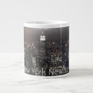 Taza personalizada NYC enorme de la taza de café d Taza Grande