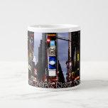 Taza personalizada NYC enorme de la taza de café d Tazas Jumbo