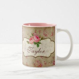 Taza personalizada rosas lamentables