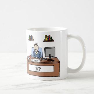 Taza personalizada VP del dibujo animado