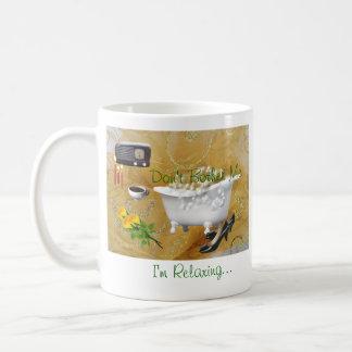 Taza-personalizar de relajación taza de café