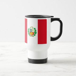 Taza peruana de la bandera del estado