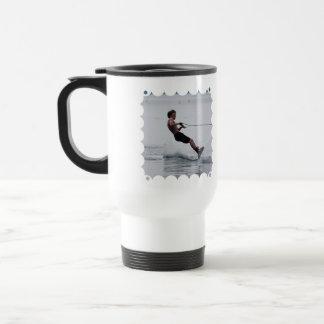Taza plástica del viaje del ángulo de Wakeboard