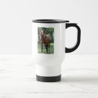 Taza plástica del viaje del caballo excelente de l