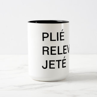 Taza Plié, Relevé, Jeté del ballet