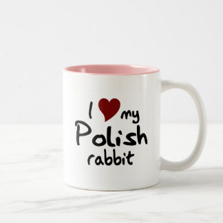Taza polaca del conejo