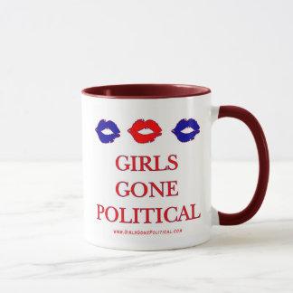 Taza política ida chicas del logotipo