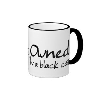 taza poseída del gato negro
