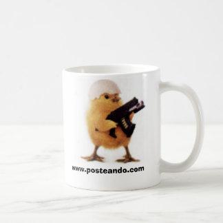 Taza posteando.com coffee mug
