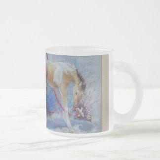 Taza - potra pintada unicornio