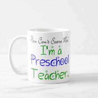 Taza preescolar del profesor