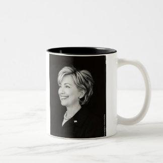 Taza presidencial del retrato de Hillary