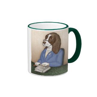 Taza presidencial del retrato del mascota de