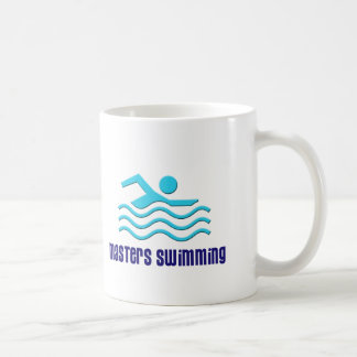 Taza principal del nadador
