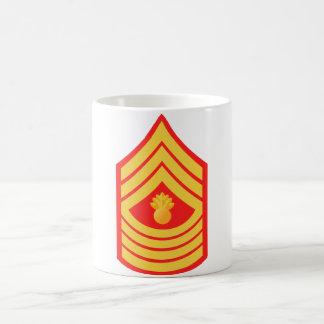 Taza principal del sargento de artillería del USMC