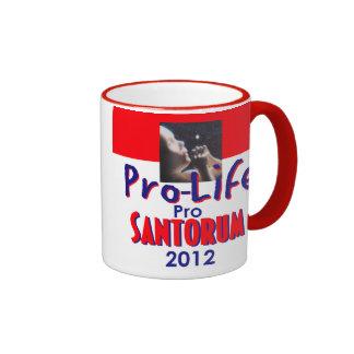Taza PROLIFE de Santorum