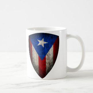 Taza puertorriqueña de la bandera