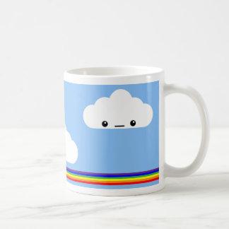 Taza Puking del arco iris de la nube