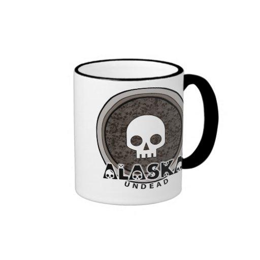 Taza punky linda de Alaska del cráneo