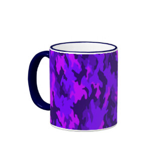 Taza púrpura de Camo