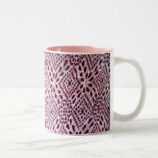 taza púrpura de la impresión de Jaipur