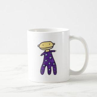 Taza púrpura del amigo