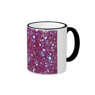 Taza púrpura del brillo
