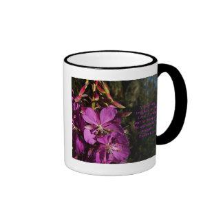 Taza púrpura del estímulo de la flor del 120:1 del