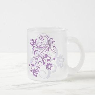 Taza púrpura del Flourish