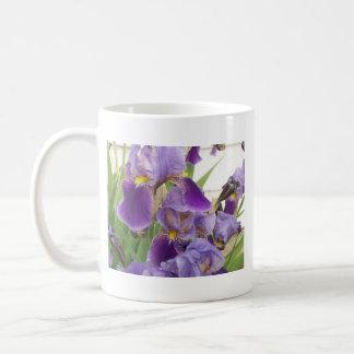 Taza púrpura del iris