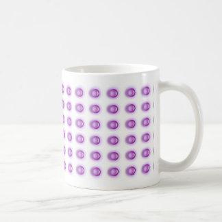 Taza púrpura del LED