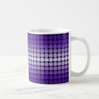 Taza púrpura del modelo de la armadura
