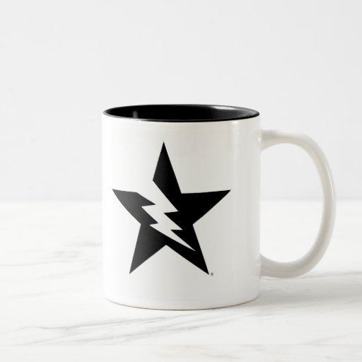 taza quebrada de la estrella