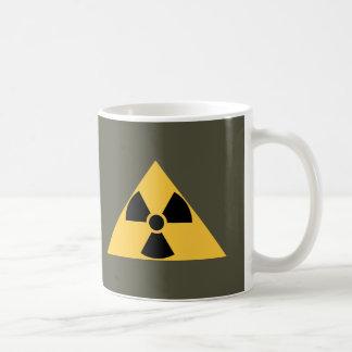 Taza radiactiva del emblema